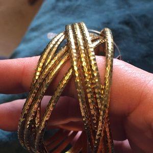 21 Jewelry - 🎀Twenty One Bangle Bracelets (9) New with Tag